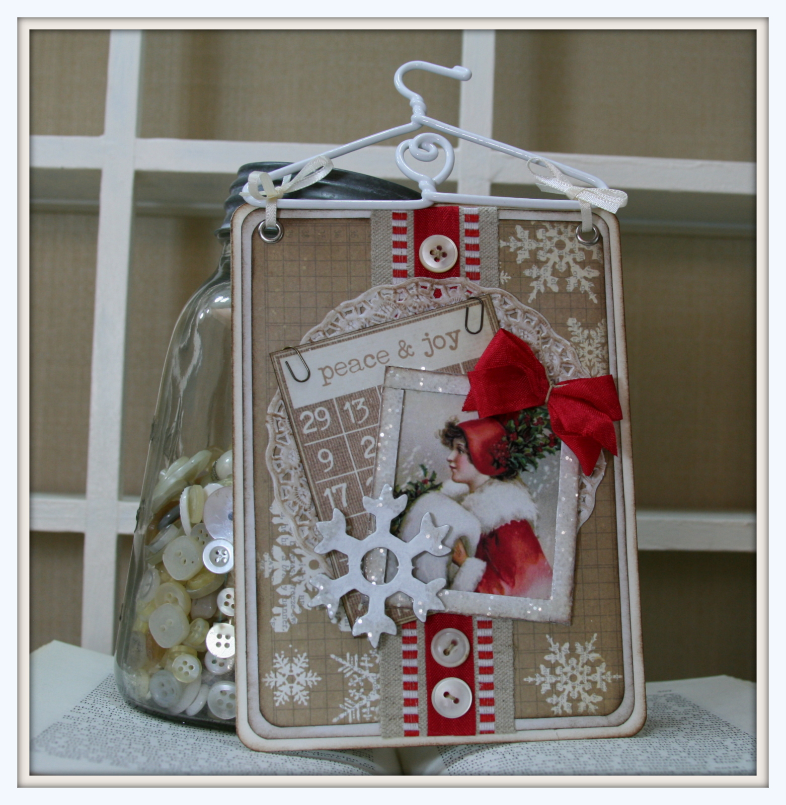 Hanging Christmas Wall Decor Polly 39 S Paper Studio