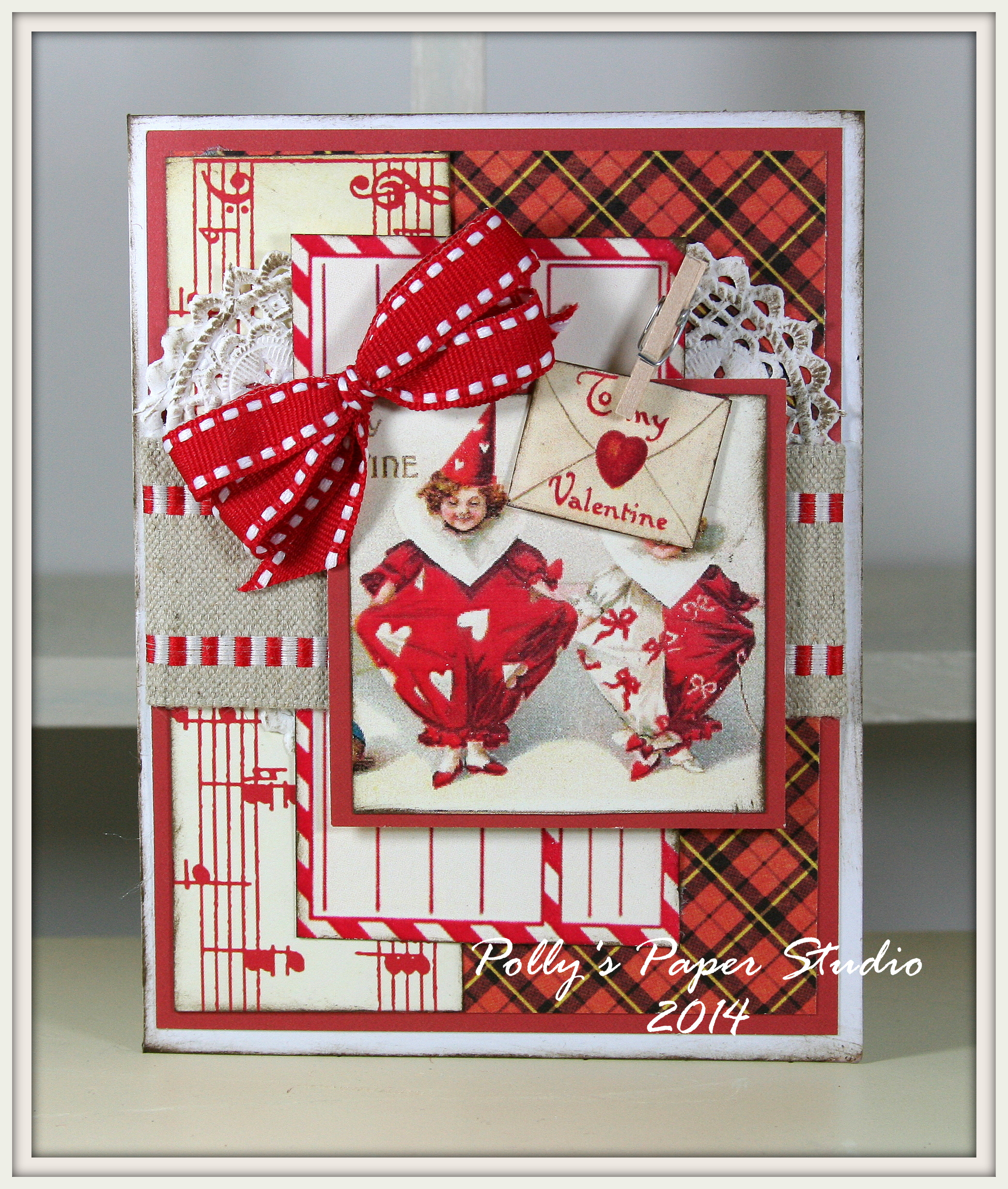 Vintage Valentines Cards and Kits | Polly's Paper Studio