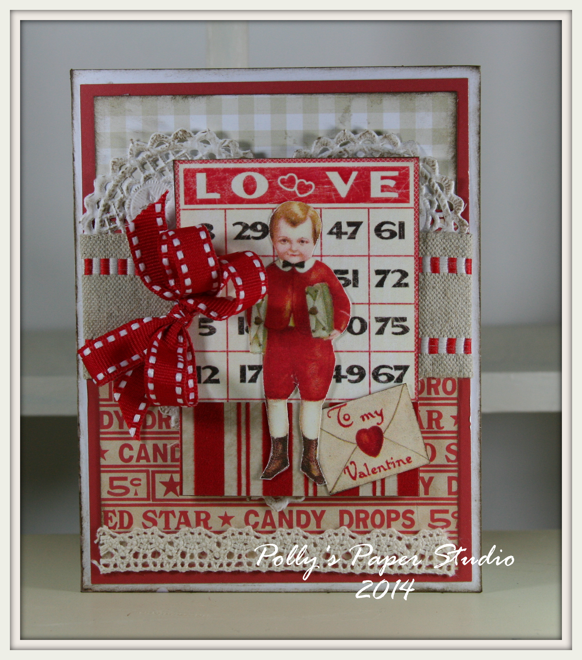 Vintage Valentines Cards And Kits