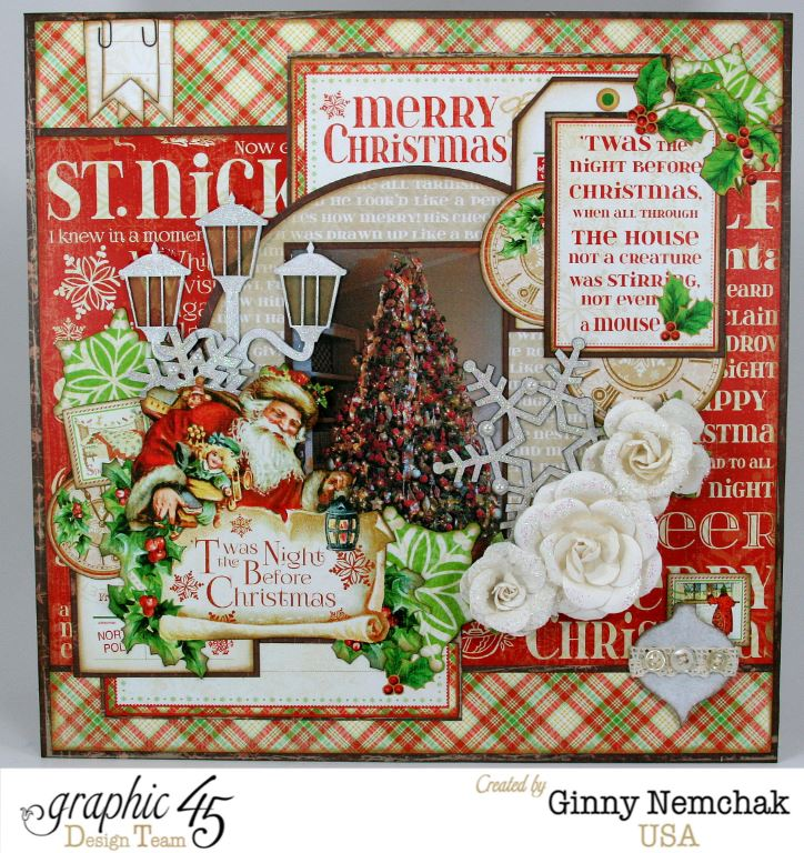 twas the night before christmas 1 this paper collection is just so beautiful its very traditional with a whimsical spin its full of beautiful patterns
