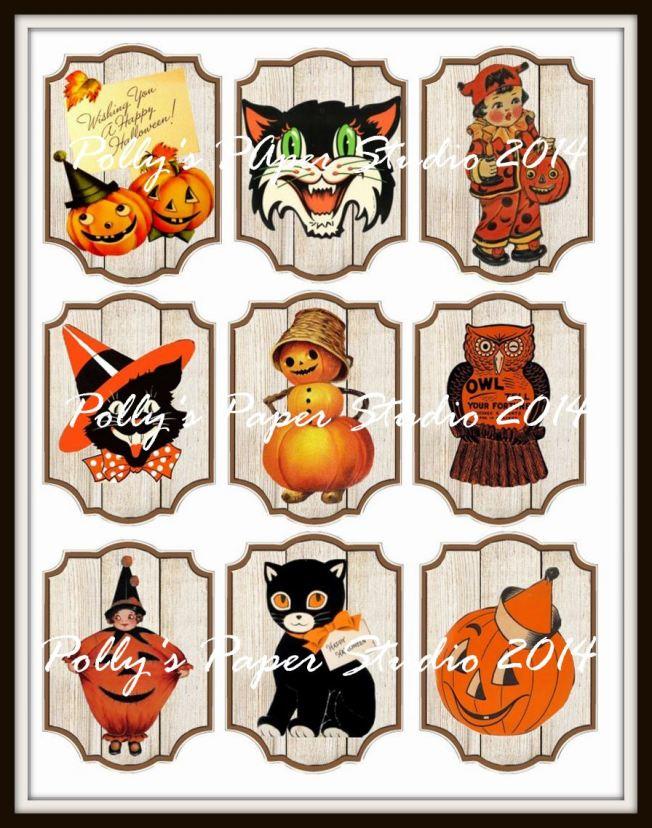 50's halloween tags