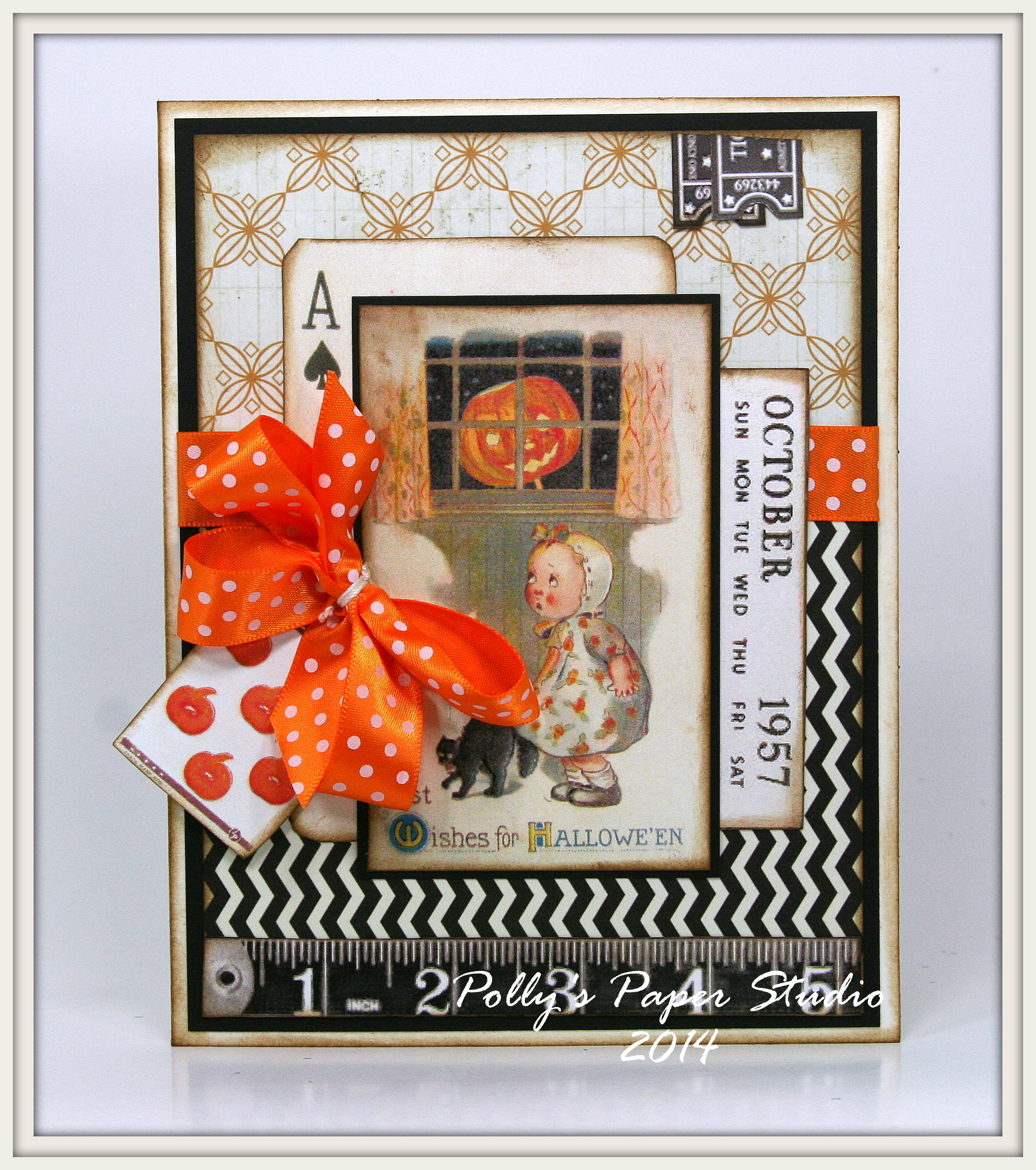 Vintage Inspired Halloween Cards Polly S Paper Studio