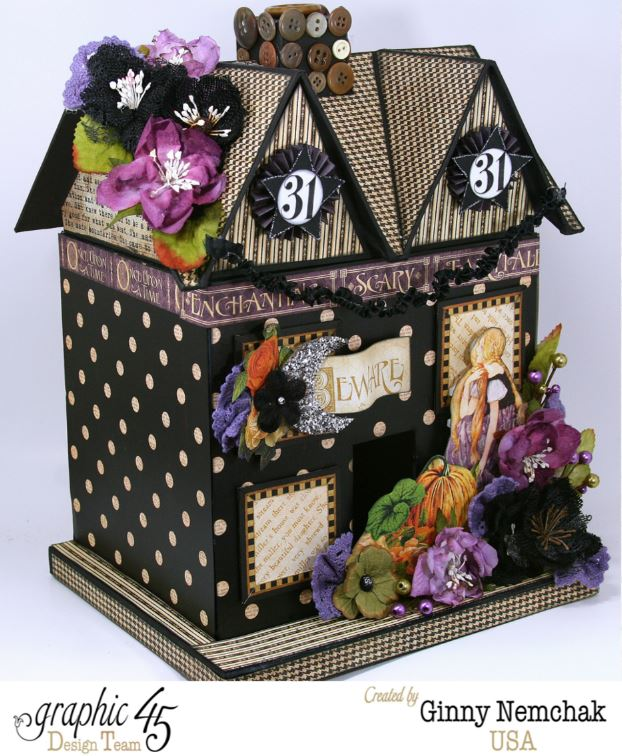 Petaloo Blog Hop Halloween House 2