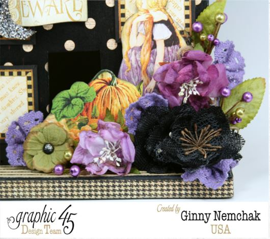 Petaloo Blog Hop Halloween House 3