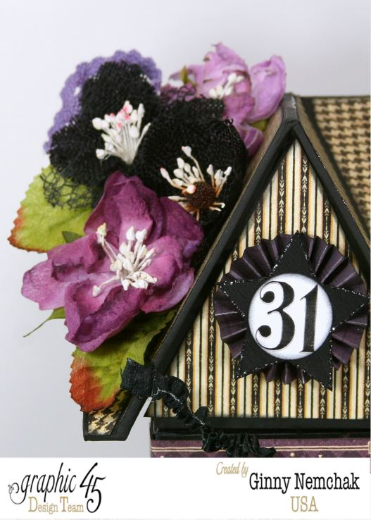 Petaloo Blog Hop Halloween House 4