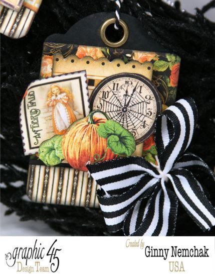 Halloween ATC Tag Wreath 4