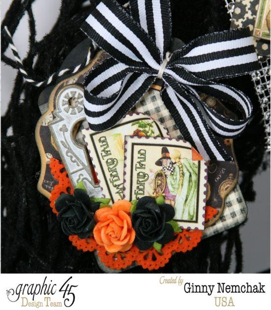 Halloween ATC Tag Wreath 5