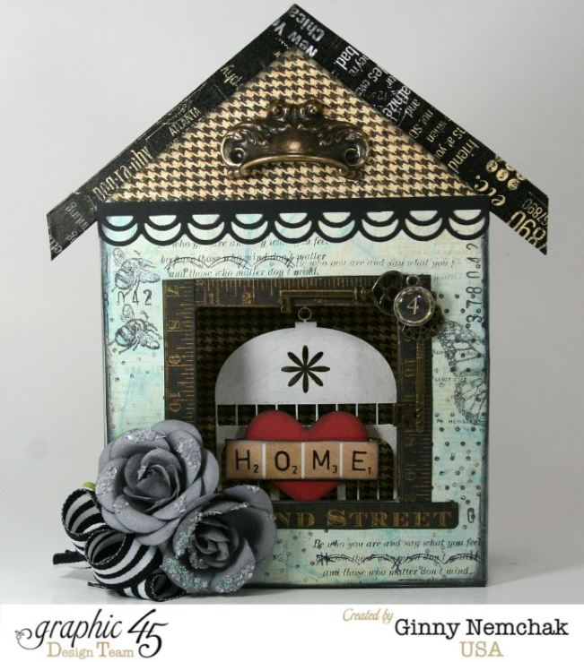 Home Sweet Home Mixed Media Box 1