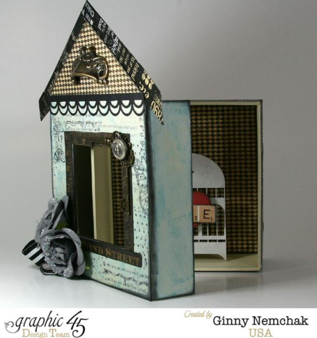 Home Sweet Home Mixed Media Box 3