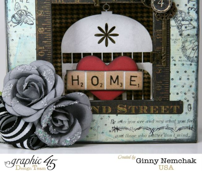 Home Sweet Home Mixed Media Box 4