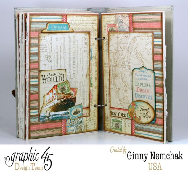 Come Away With Me Travel Journal 6