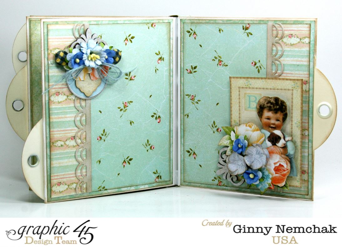 baby boy mini album with baby 2 bride and precious