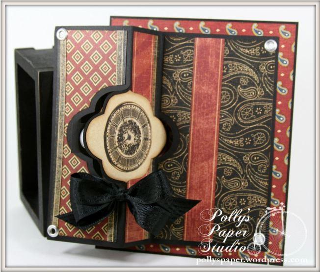 A Proper Gentleman Flip-its GRaphic 45 Card 2