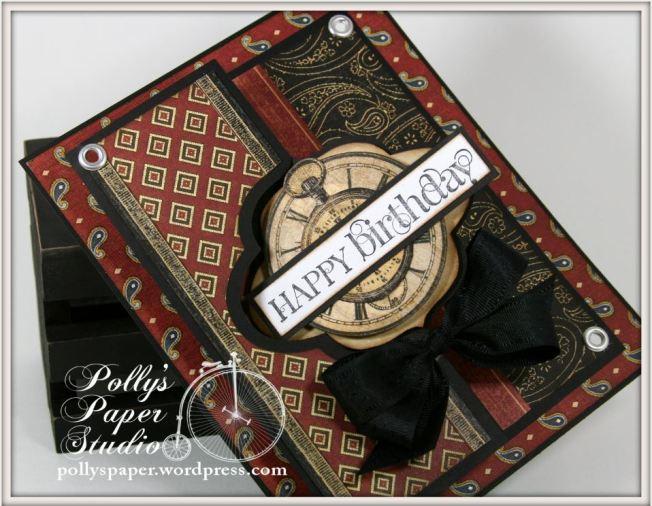 A Proper Gentleman Flip-its GRaphic 45 Card 3