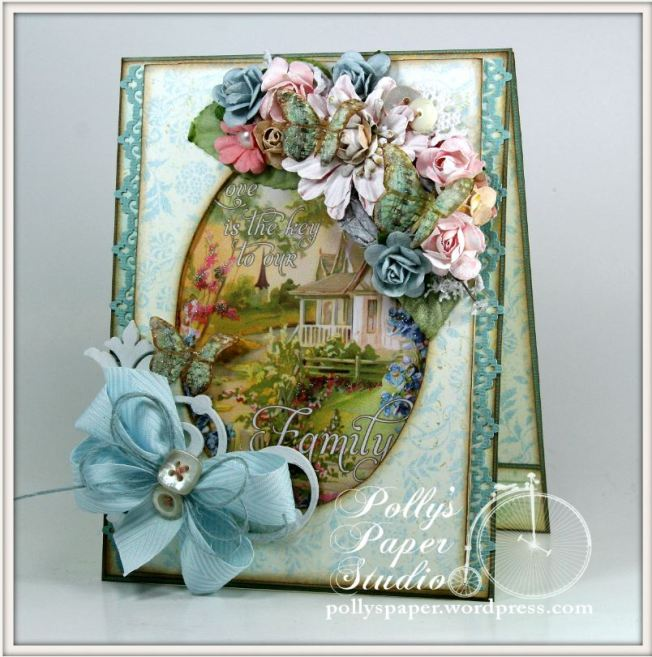 Family Is Love Crafty Secrets Card 1