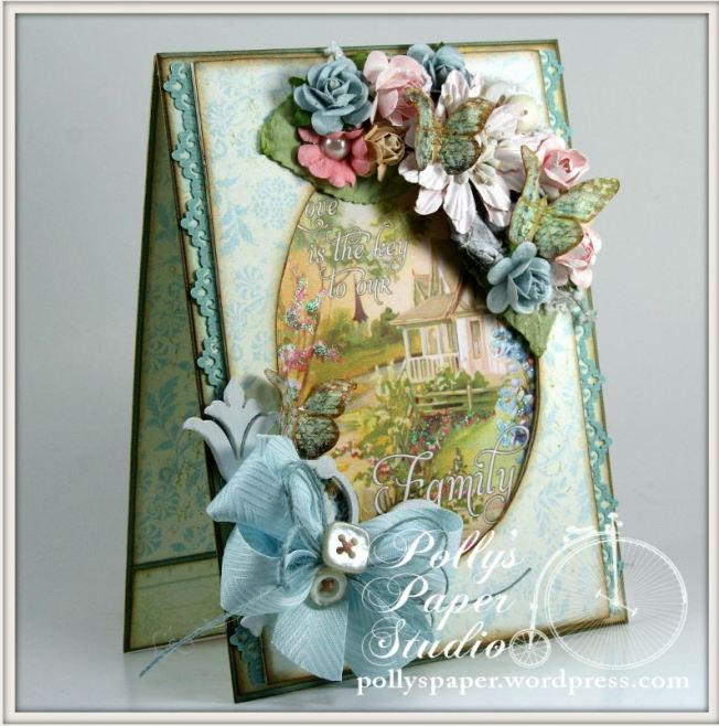 Family Is Love Crafty Secrets Card 2