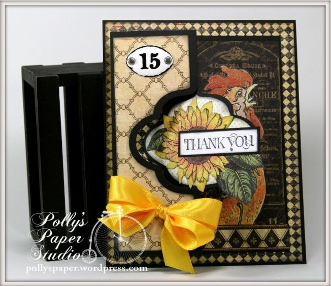 French Country Flip-its Graphic 45 Card 1