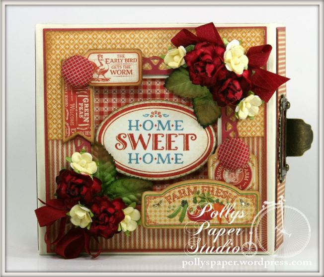 Home Sweet Home Mixed Media Box Farm Fresh 1