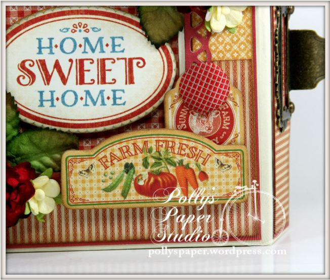 Home Sweet Home Mixed Media Box Farm Fresh 5