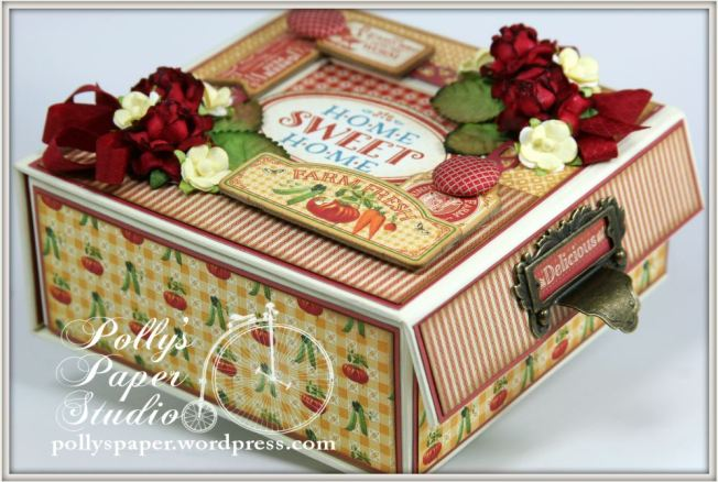 Home Sweet Home Mixed Media Box Farm Fresh 8