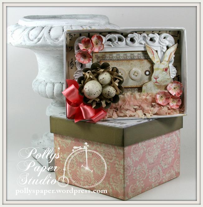 Petite Easter Shadow Box 1