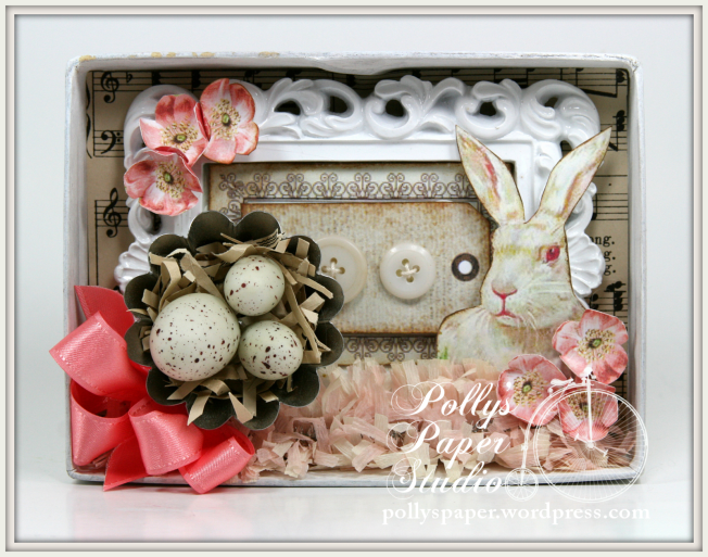 Petite Easter Shadow Box 2
