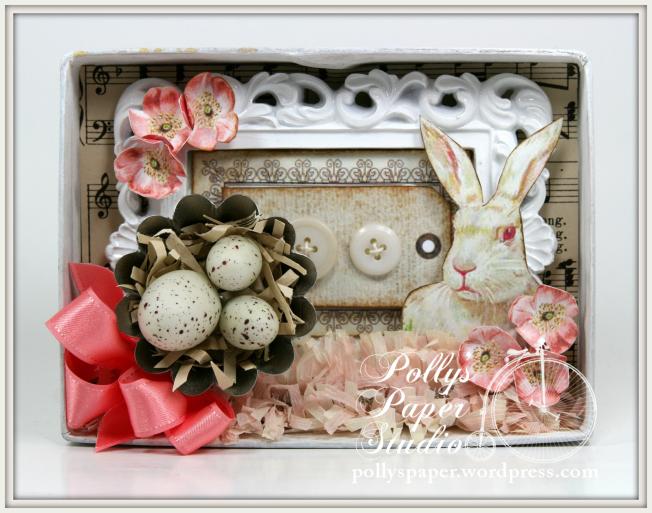 Petite Easter Shadow Box 2