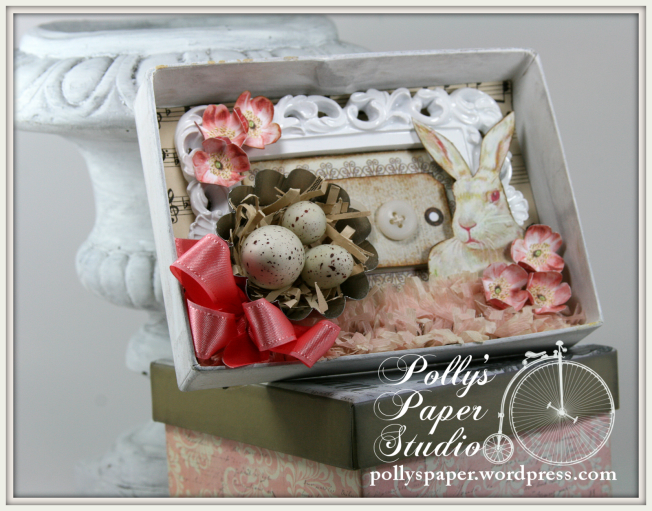 Petite Easter Shadow Box 4