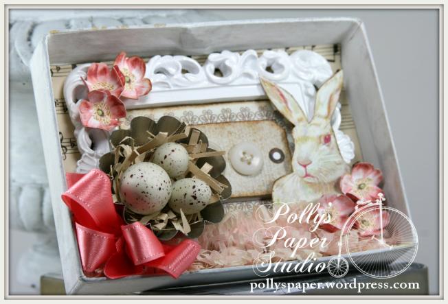 Petite Easter Shadow Box 5