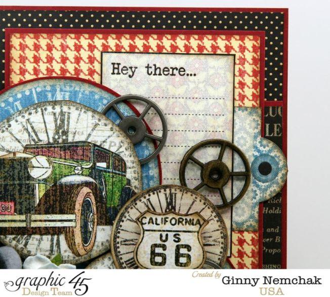Times Nouveau Vintage Cars Card 4