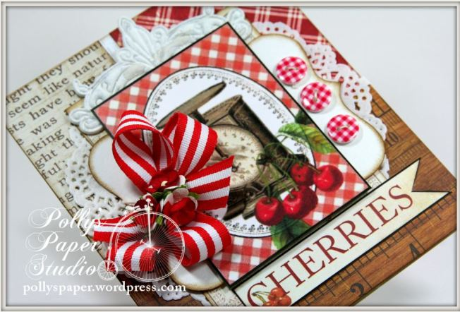 Summer Cherries Card 4