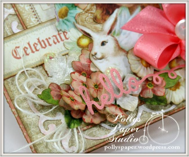 Sweet Sentiments Easter Card Celebrate Spring Graphic 45 1