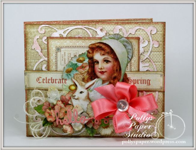 Sweet Sentiments Easter Card Celebrate Spring Graphic 45 2
