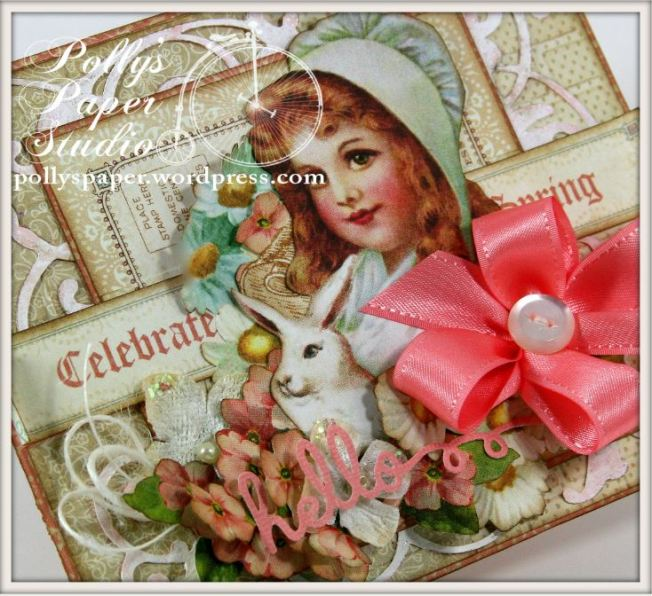 Sweet Sentiments Easter Card Celebrate Spring Graphic 45 4