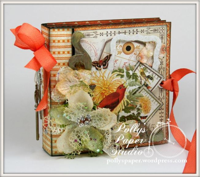 Things With Wings Mini Album Time To Flourish Graphic 45 2