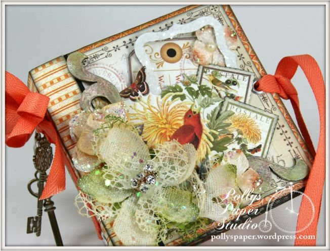 Things With Wings Mini Album Time To Flourish Graphic 45 4
