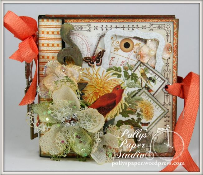 Things With Wings Mini Album Time To Flourish Graphic 45 5