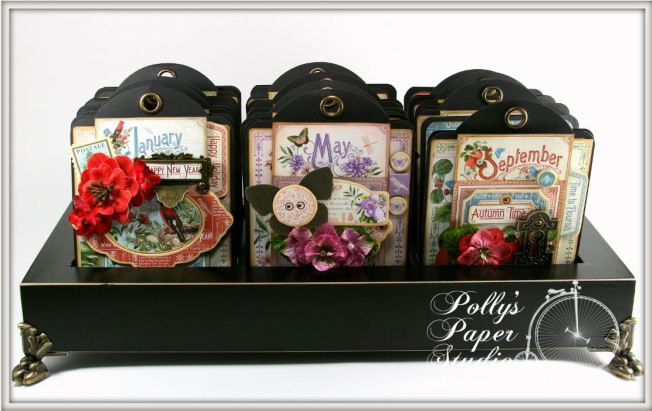 Time to Flourish Perpetual Tag Scrapbook Graphic 45 1