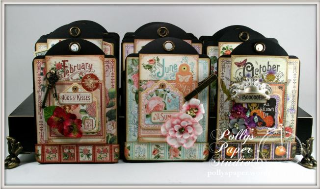 Time to Flourish Perpetual Tag Scrapbook Graphic 45 3
