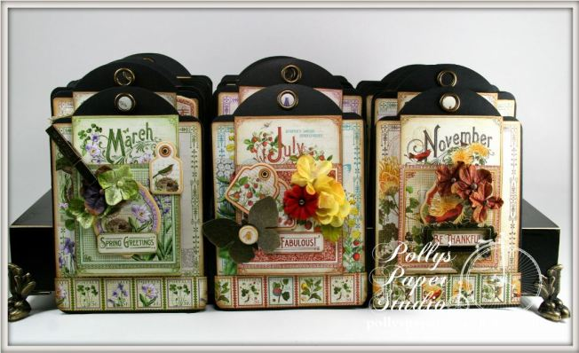 Time to Flourish Perpetual Tag Scrapbook Graphic 45 4