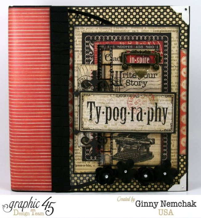 Typography Mixed Media Planner 1