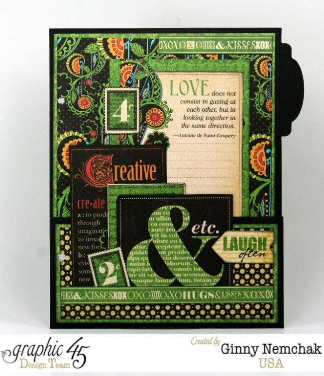 Typography Mixed Media Planner 3