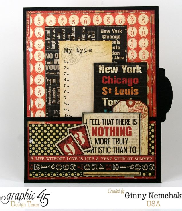 Typography Mixed Media Planner 4