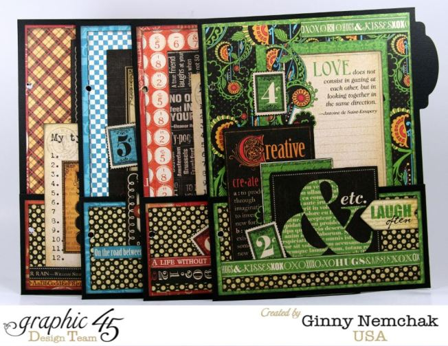 Typography Mixed Media Planner 7