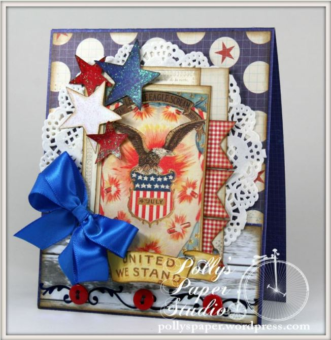 United We Stand 4th of July Card