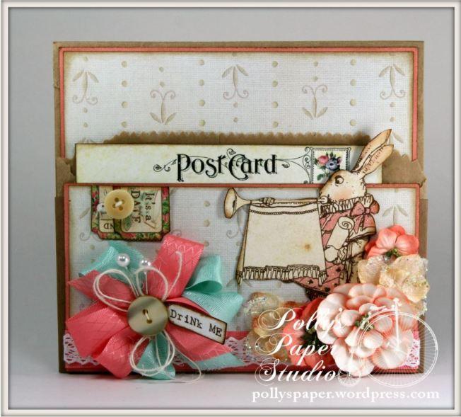 Wonderland Tea Tags & Pocket 4