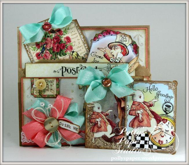 Wonderland Tea Tags & Pocket 5