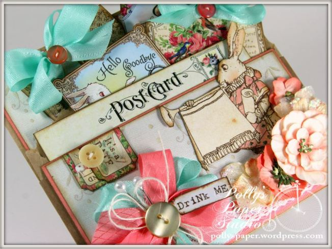Wonderland Tea Tags & Pocket 7