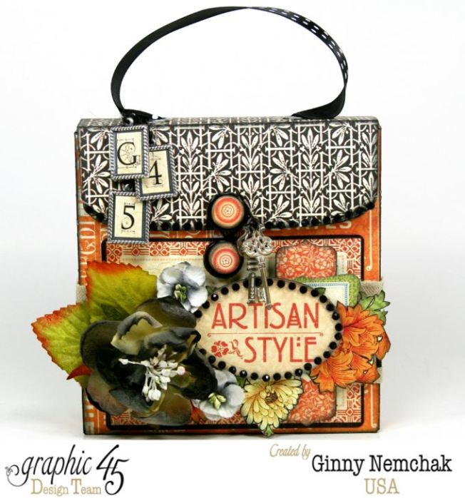 Artisan Style Gift Box with Tags 1