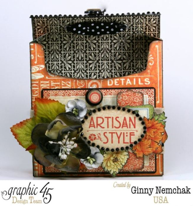 Artisan Style Gift Box with Tags 6